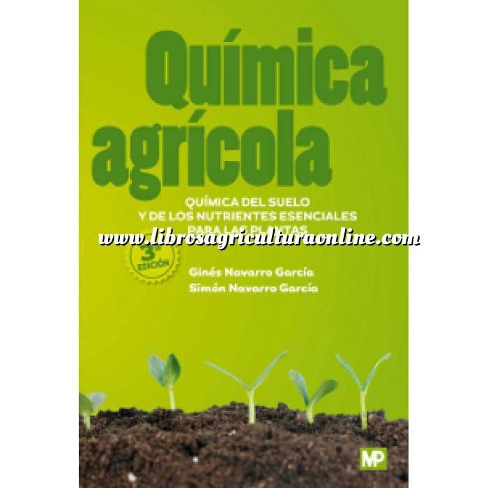 Imagen Fertilizantes Química agrícola. Química del suelo y de los nutrientes esenciales para las plantas