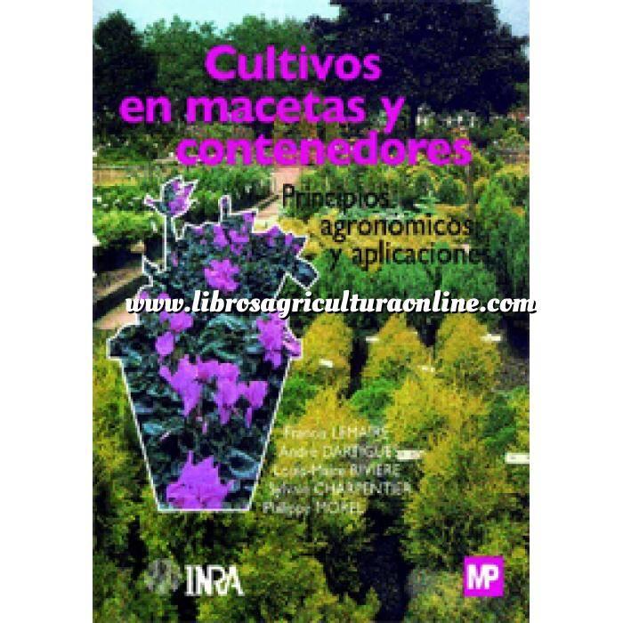 Imagen Plantas Medicinales y aromáticas Cultivos en macetas y contenedores. Principios agronómicos y aplicaciones.