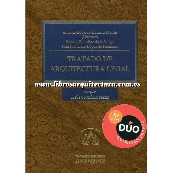 Imagen Derecho urbanístico y política del suelo Tratado de arquitectura legal