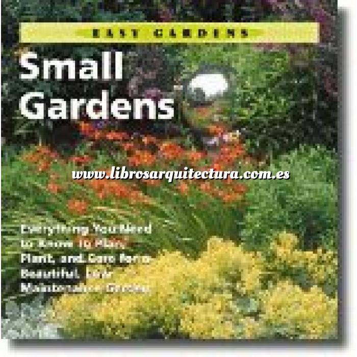 Imagen Diseño de jardines Small gardens