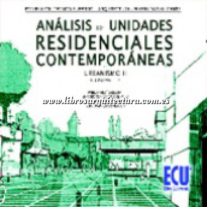 Imagen Planificación y ordenación del territorio Análisis de unidades residenciales contemporáneas