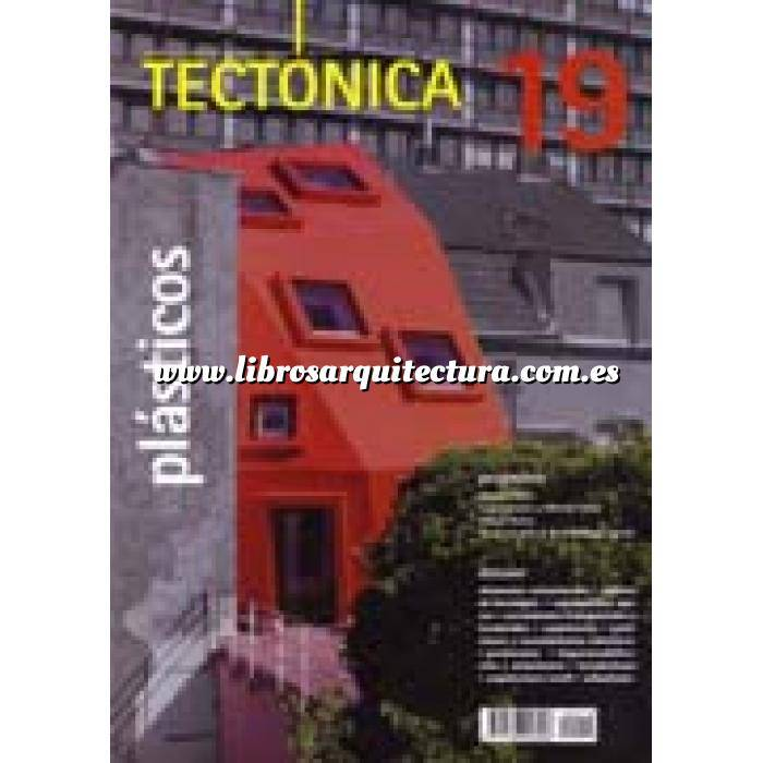 Imagen Tectónica Revista Tectónica Nº 19. Plásticos