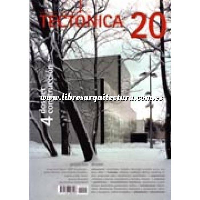 Imagen Tectónica Revista Tectónica Nº 20. Dossier construcción 4
