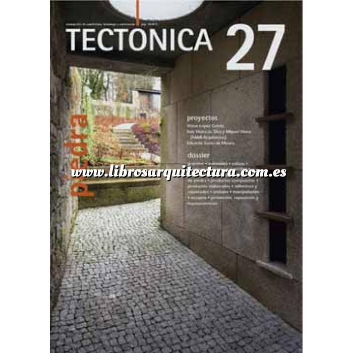Imagen Tectónica Revista Tectónica Nº 27. Piedra