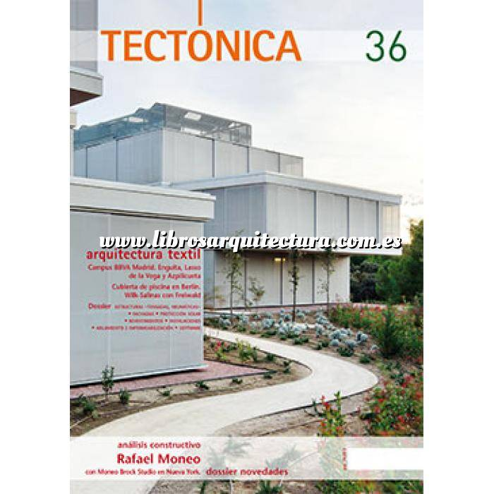 Imagen Tectónica Revista Tectónica Nº 36. Arquitectura textil
