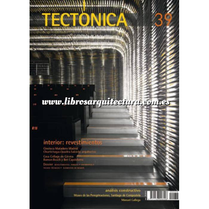 Imagen Tectónica Revista Tectónica Nº 39. Interiores: revestimientos