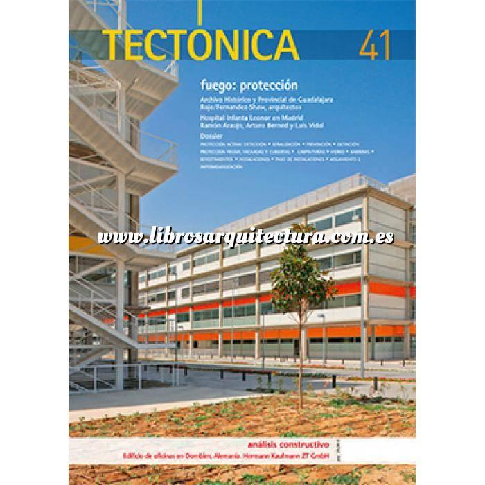 Imagen Tectónica Revista Tectónica Nº 41. Fuego : Protección
