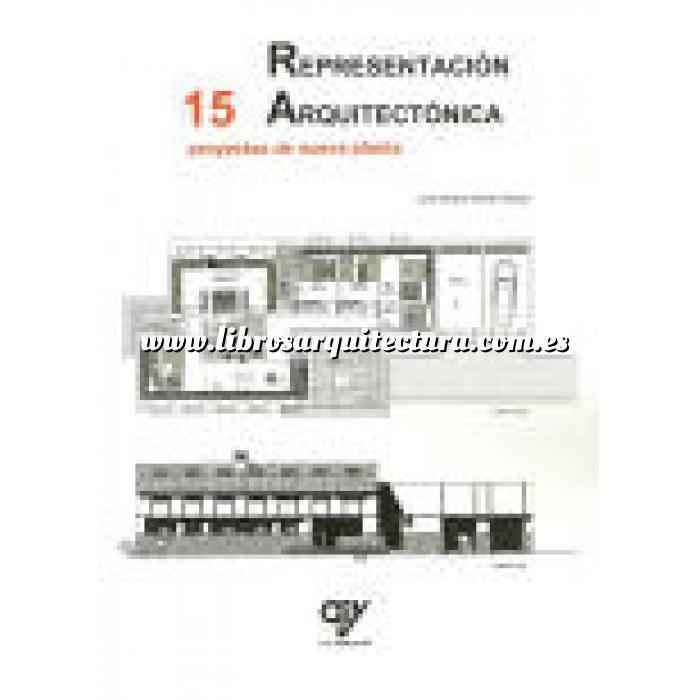 Imagen Tipologias. Plantas y alzados Representación arquitectónica. 15 Proyectos de nueva planta