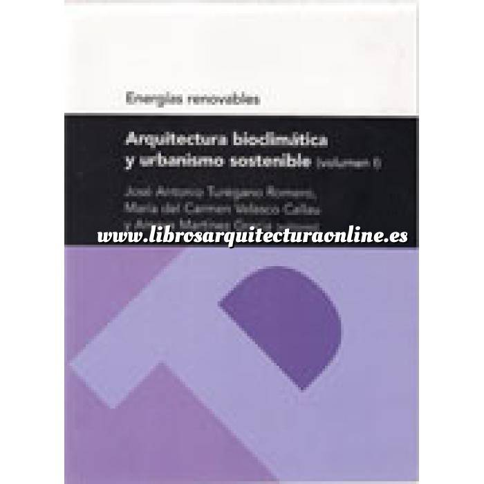 Imagen Arquitectura sostenible y ecológica Arquitectura bioclimatica y urbanismo sostenible  volumen 1