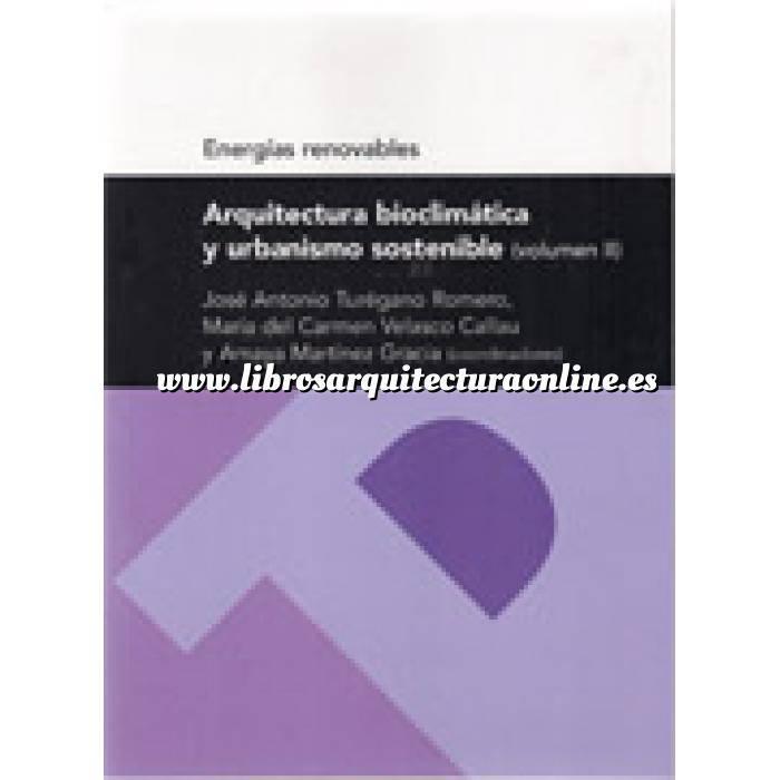 Imagen Arquitectura sostenible y ecológica Arquitectura bioclimatica y urbanismo sostenible  volumen 2