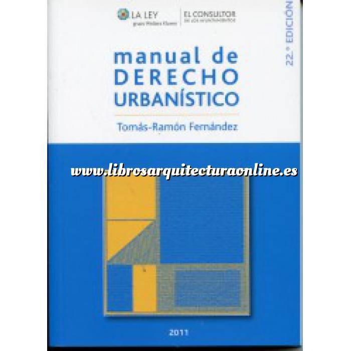 Imagen Derecho urbanístico y política del suelo Manual de Derecho Urbanístico
