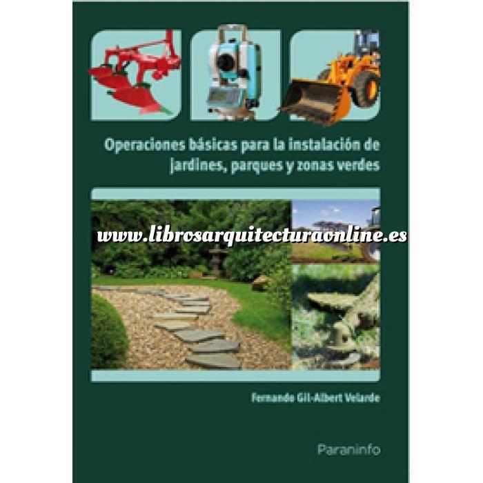 Imagen Diseño de jardines Operaciones básicas para la instalación de jardines, parques y zonas verdes