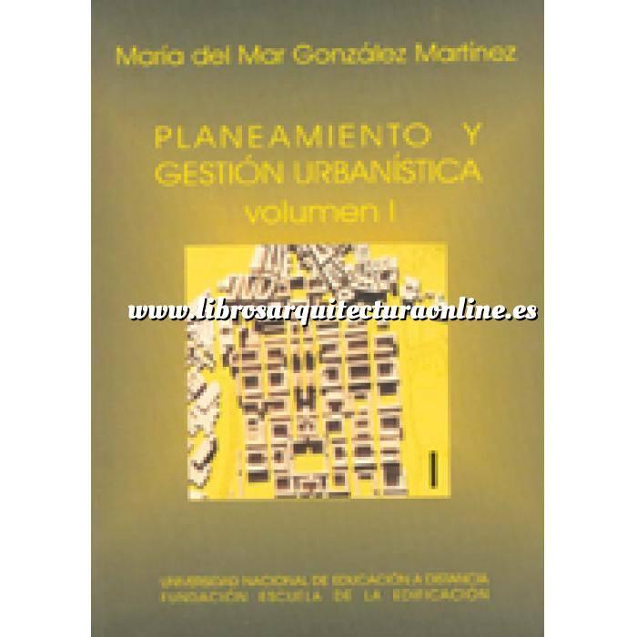 Imagen Proyectos de urbanismo Planeamiento y gestión urbanistica. 2 volumenes