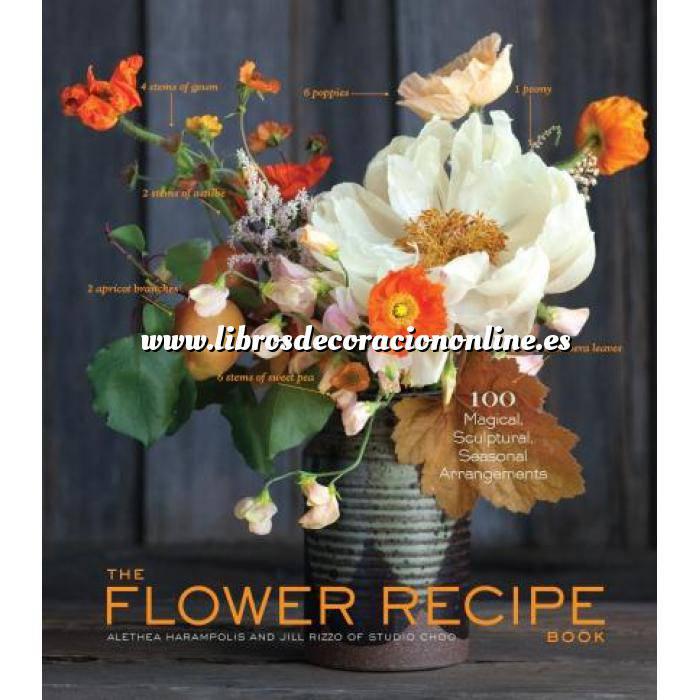 Imagen Presentación de mesas y arreglos florales The Flower Recipe Book
