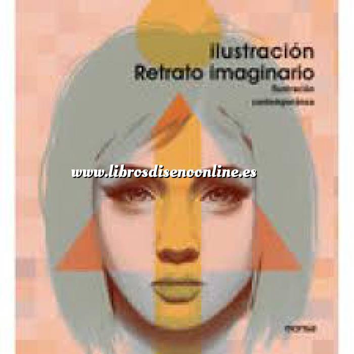 Imagen Ilustración Retrato imaginario.Ilustración contemporánea de lápiz a digital
