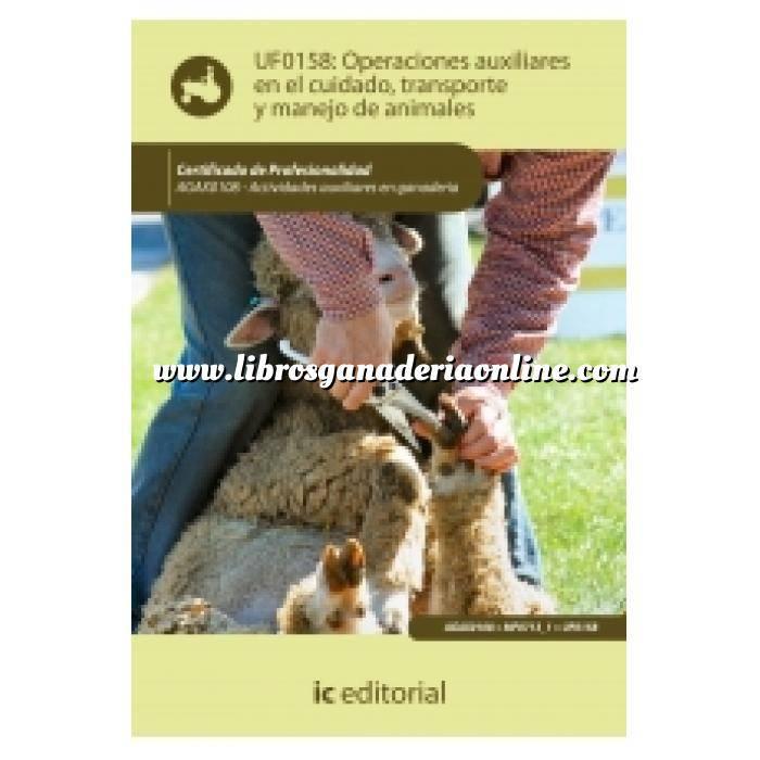 Imagen Ovino y Caprino Operaciones auxiliares en el cuidado, transporte y manejo de animales