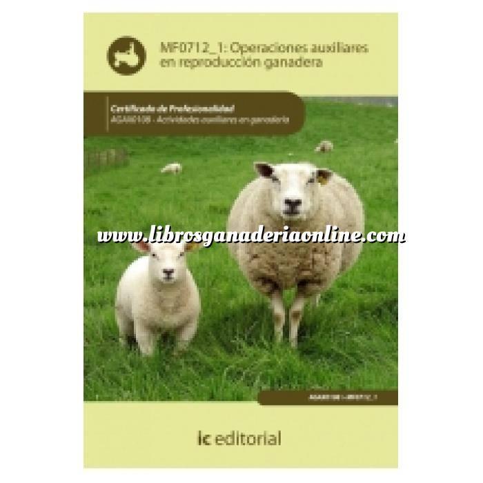 Imagen Zootecnia Operaciones auxiliares en reproducción ganadera