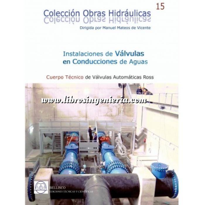 Imagen Abastecimiento de aguas y alcantarillado Instalaciones de valvulas en conducciones de aguas