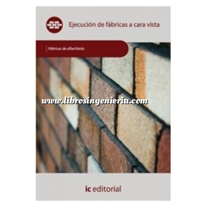 Imagen Albañilería  Ejecución de fábricas a cara vista