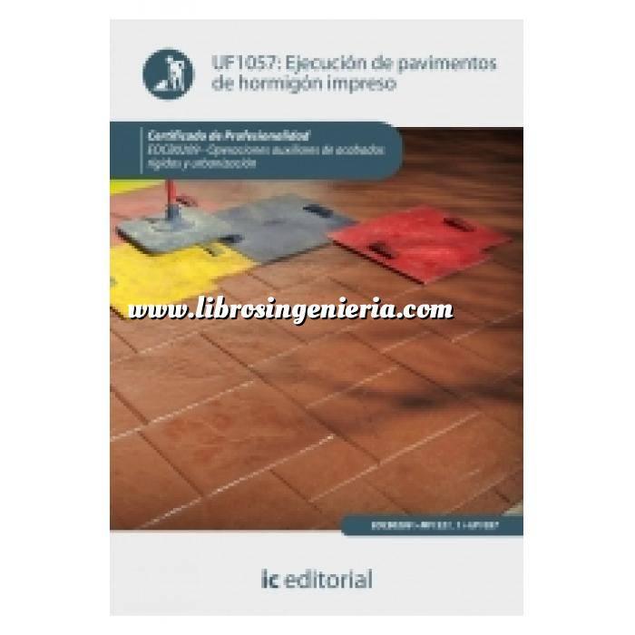 Imagen Albañilería  Ejecución de pavimentos de hormigón impreso
