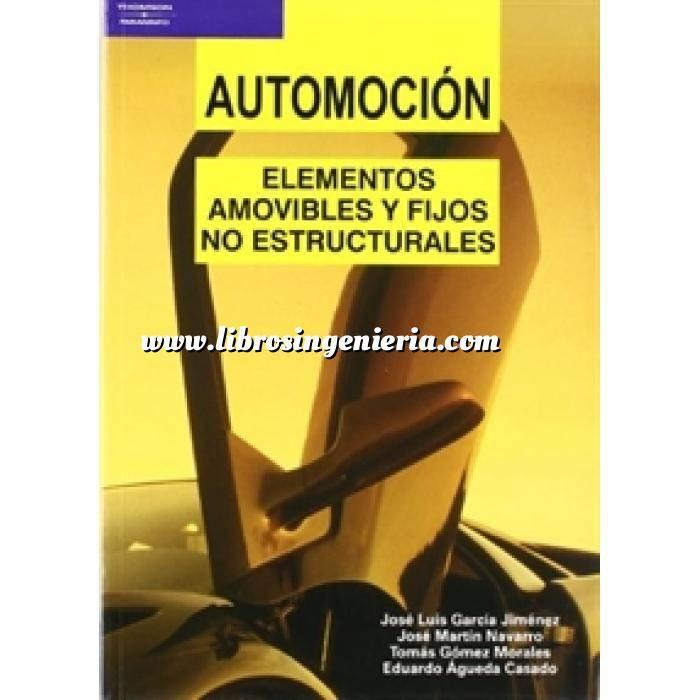 Imagen Automoción  Automoción. Elementos amovibles y fijos no estructurales