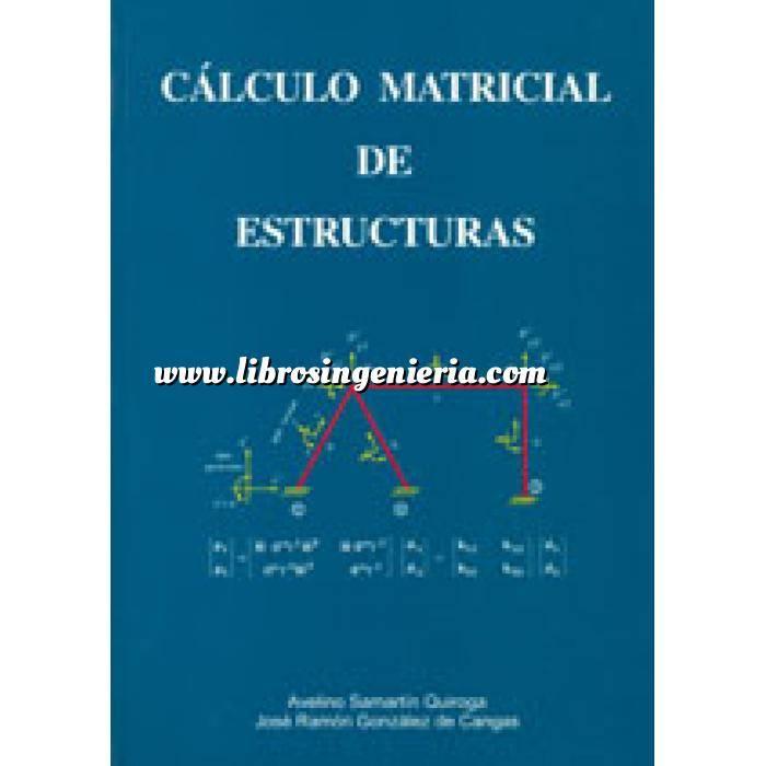 Imagen Cálculo de estructuras Calculo matricial de estructuras