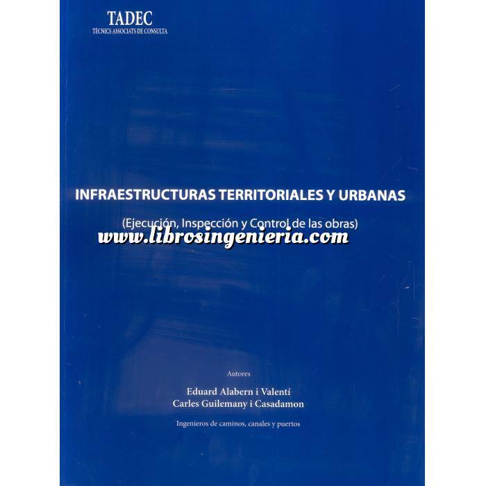 Imagen Carreteras Infraestructuras territoriales y urbanas. Ejecución, Inspección y Control de las obras