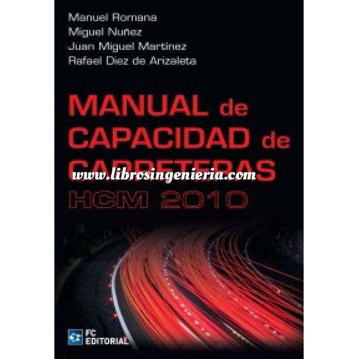 Imagen Carreteras Manual de capacidad de carreteras HCM 2010