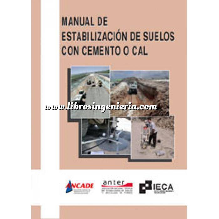 Imagen Carreteras Manual de estabilización de suelos con cemento o cal