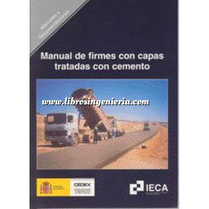Imagen Carreteras Manual de firmes con capas tratadas con cemento