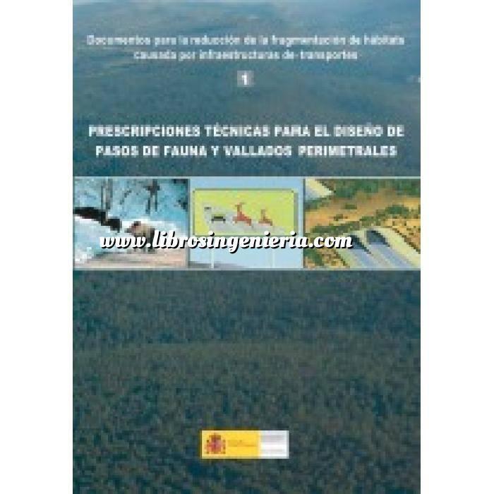 Imagen Carreteras Prescripciones técnicas para el diseño de pasos de fauna y vallados perimetrales