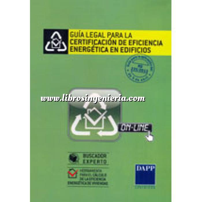 Imagen Certificación y Eficiencia energética Guía legal para la certificación de eficiencia energetica en edificios. CD-ROM