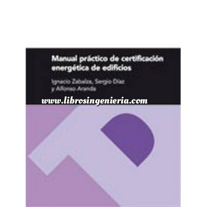 Imagen Certificación y Eficiencia energética Manual práctico de certificación energética de edificios