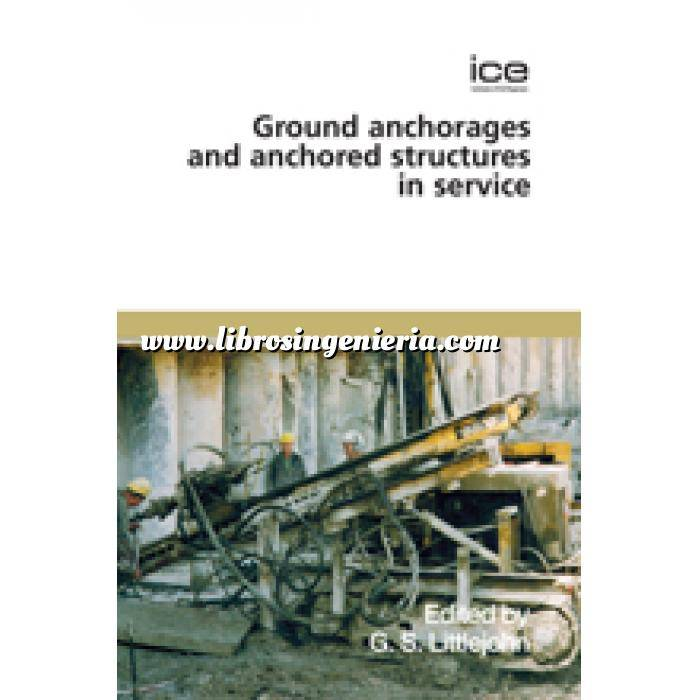 Imagen Cimentaciones Ground anchorages and anchored structures in service