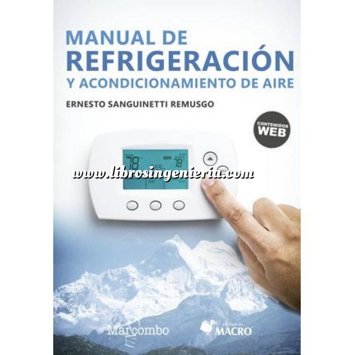 Imagen Climatización, calefacción, refrigeración y aire Manual de refrigeración y acondicionamiento de aire
