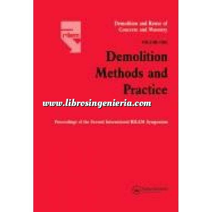 Imagen Demoliciones Demolition methods and practice 2 vol.