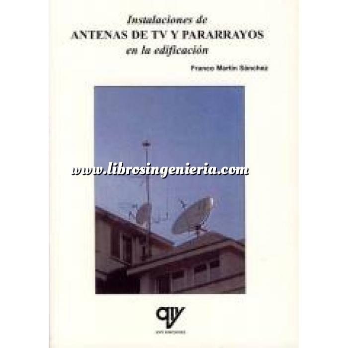 Imagen Domótica Instalaciones de antenas de tv y pararrayos en la edificación