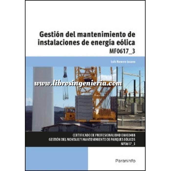Imagen Energía eólica MF0617_3 - Gestión del mantenimiento de instalaciones de energía eólica