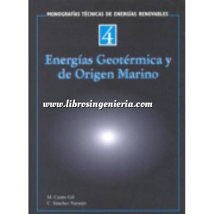Imagen Energía geotérmica Monografías técnicas de energías renovables. Energías geotérmica y de origen marino
