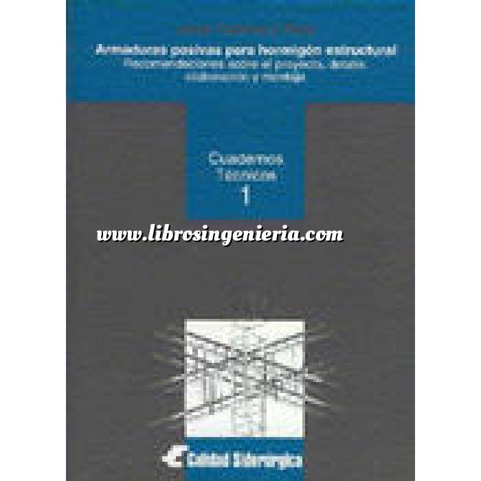 Imagen Estructuras de hormigón Armaduras pasivas para hormigon estructural