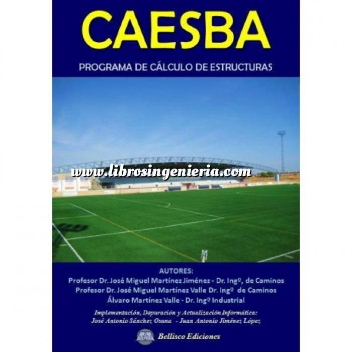 Imagen Estructuras de hormigón CAESBA. Programa de Cálculo de Estructuras