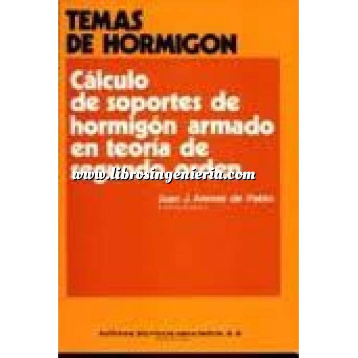 Imagen Estructuras de hormigón Calculo de soportes de hormigón armado en teoria de segundo orden