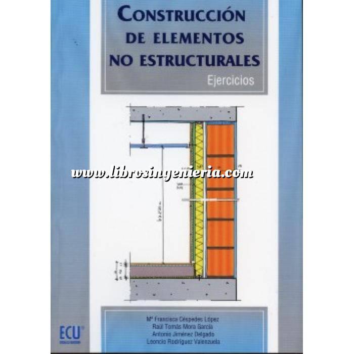 Imagen Estructuras de hormigón Construcción de elementos no estructurales. Ejercicios