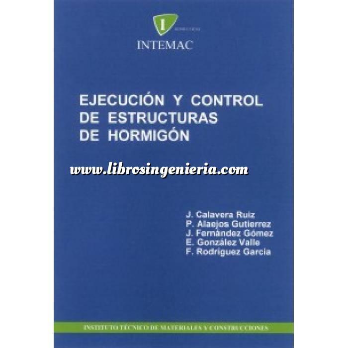 Imagen Estructuras de hormigón Ejecucion y control de estructuras de hormigón