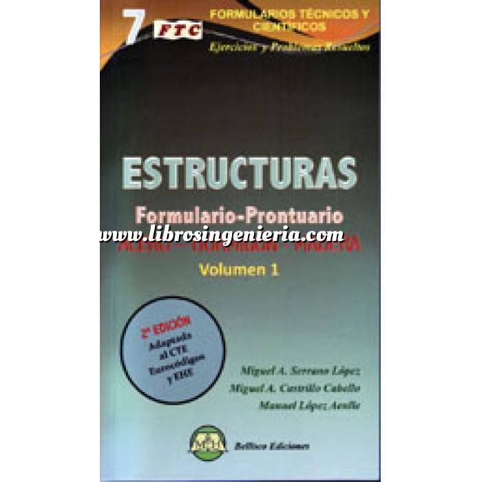 Imagen Estructuras de hormigón Estructuras.prontuario. acero.hormigón.madera