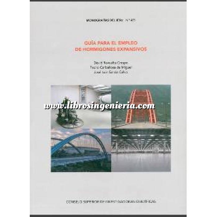 Imagen Estructuras de hormigón Guía para el empleo de hormigones expansivos