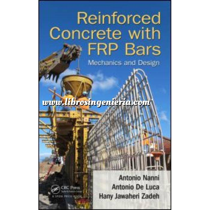 Imagen Estructuras de hormigón Reinforced Concrete with FRP Bars.Mechanics and Design