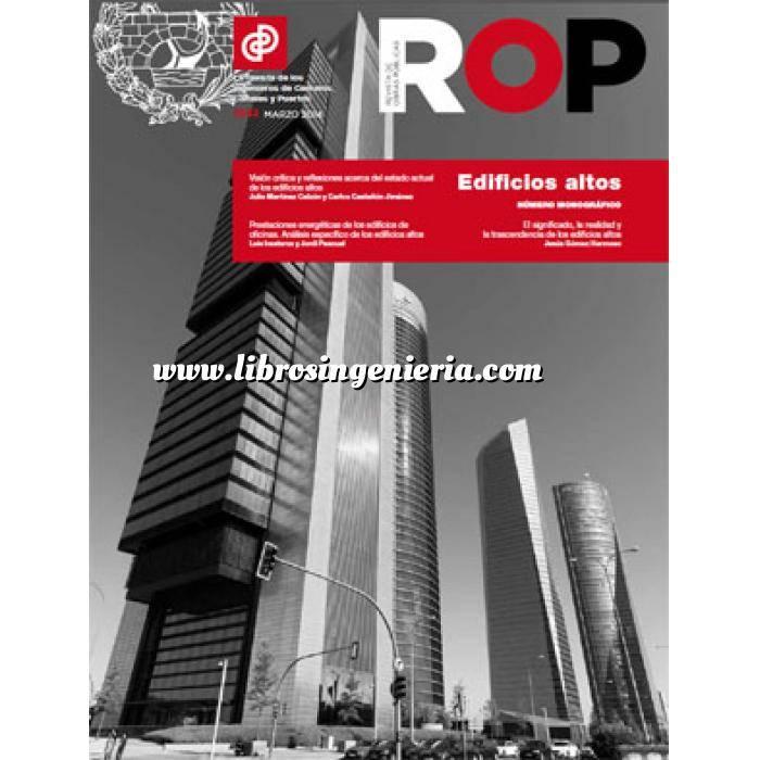 Imagen Estructuras de hormigón Revista de Obras Publicas ROP,Nº 3552 . Edificios Altos