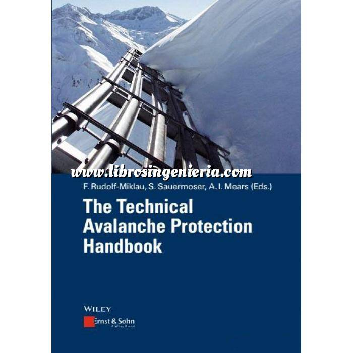 Imagen Estructuras de hormigón The technical Avalanche Protection Handbook
