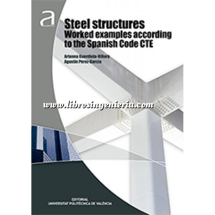 Imagen Estructuras metálicas Steel structures worked examples according to the Spanish code CTE